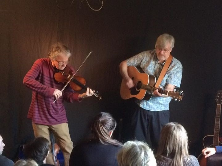 Kelly and Woolley, Nestlerode House Concert. (1)